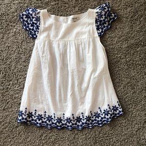 Madewell flutter sleeve blouse